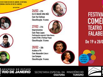 Após 7 meses fechado, Teatro Miguel Falabella reabre com festival de comédia