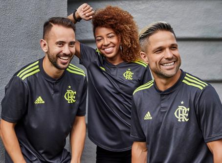 ESPORTEnews | Adidas revela terceira camisa do Flamengo para temporada