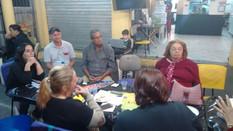 Moradores se reúnem para apoiar a associação de moradores
