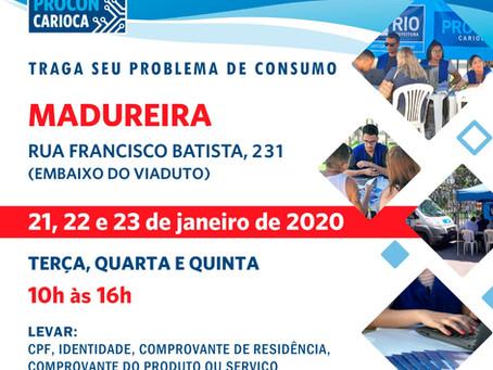 Procon Carioca atende em Madureira nesta semana