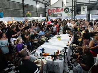 Nesse sábado (9), Projeto Criolice realiza última roda de samba do ano em clima de  Pré-Reveillon