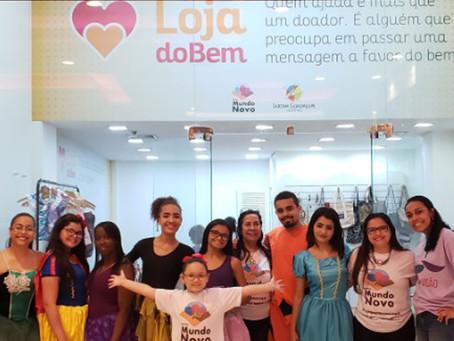 Shopping de Guadalupe inaugura 'Loja do Bem'