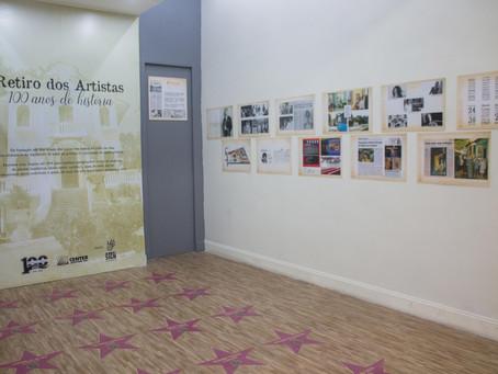 Shopping de Jacarepaguá recebe exposição gratuita 'Retiro dos Artistas – 100 anos de história'