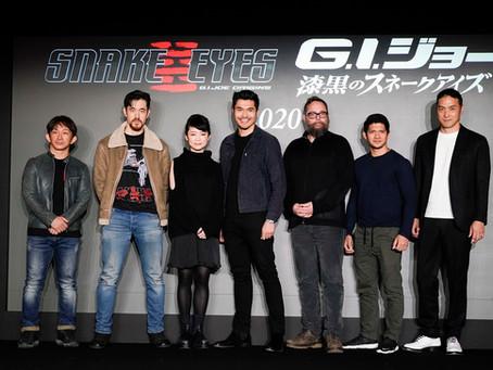 Elenco e equipe de 'G.I.Joe Origens: Snake Eyes' falam sobre expectativa com o filme