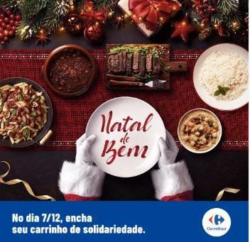 Carrefour realiza a campanha 'Natal do Bem', nesse sábado (07)