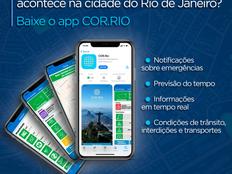 Aplicativo do Centro de Operações Rio ultrapassa marca de 200 mil usuários