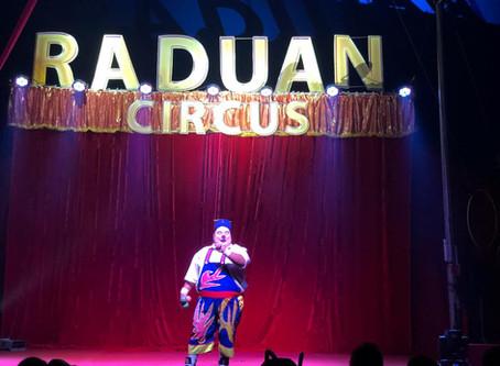 Guadalupe inaugura Raduan Circus