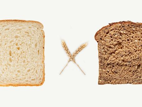 NUTRIÇÃOnews   Mudanças de hábitos alimentares: pão branco ou integral?