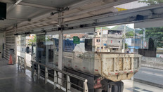 Cinco presos em flagrante furtando equipamentos em estação do BRT em Magalhães Bastos