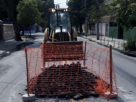 [ATUALIZADA] Dias após obra da prefeitura, Rua Cairuçu em Valqueire volta a alagar