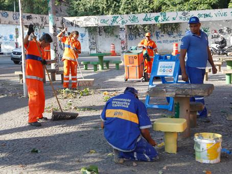 """Prefeitura leva serviços do """"Cuidar da Cidade"""" pela primeira vem a Bangu"""