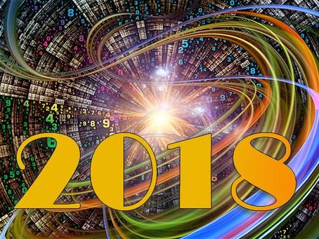 HOLÍSTICOnews   As energias dos números que vão reger o ano 2018