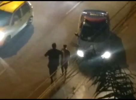 VALQUEIRE | Perseguição policial na Avenida Japoré tem um preso e outro baleado que está foragido