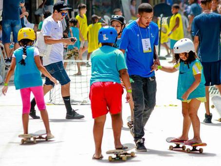 Shopping de Guadalupe realiza o 'Skate Camp 2018' em parceria com o projeto Briza