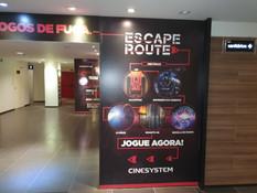 Escape Route da Cinesystem está reaberto no Américas Shopping
