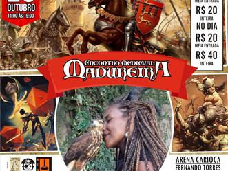 """""""Encontro Medieval Madureira"""" acontece na Arena em Madureira no próximo domingo (20)"""