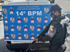 Bairro Seguro Padre Miguel impede roubo de carga de remédios avaliada em R$ 11 mil