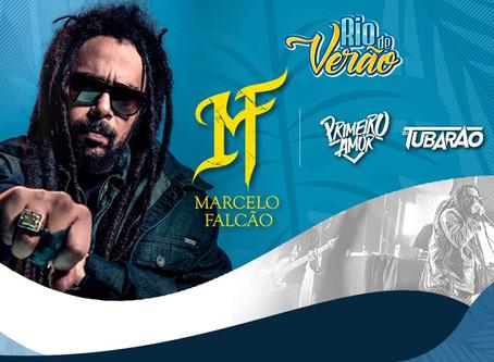 Marcelo Falcão se apresenta nesse domingo (22), na nova casa de shows da Zona Oeste
