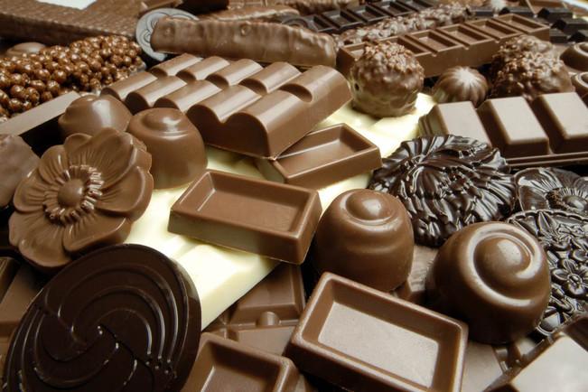 čokolada i čokoladne bombone