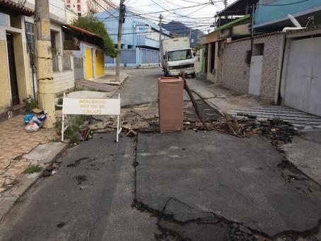 Rua Treze de Realengo tem o azar é de depender dos órgãos públicos