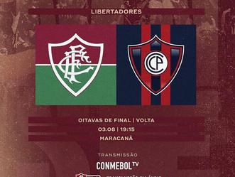 Dia de Flu! Tricolor carioca encara o equipe paraguaia em busca de classificação
