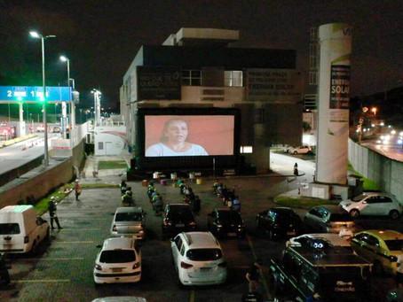 ViaRio promoveu Cinemão, em formato de drive-in, na sede em Jardim Sulacap
