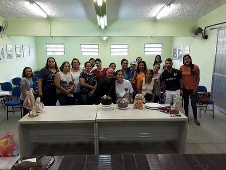 Domingo teve aulão de culinária no Galpão Comunitário