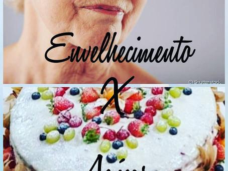 ESTÉTICAnews | Envelhecimento x açúcar
