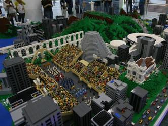 Cidade das Artes recebe maquete da Lego em exposição permanente