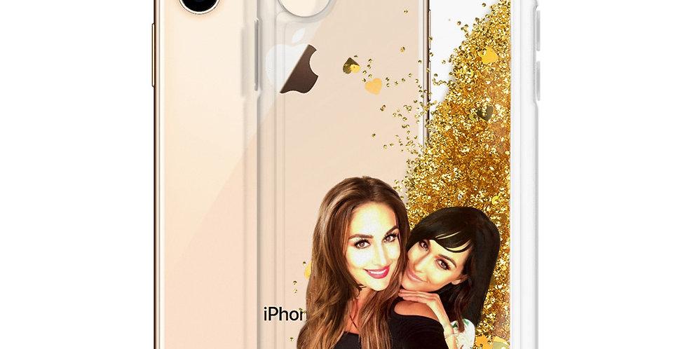 Bella Twins Liquid Glitter Phone Case