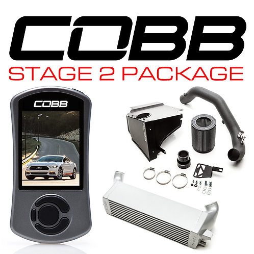 COBB Stage 2 Power Package Mustang Ecoboost 2015-2017