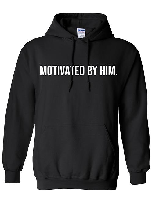 MOTIVATED Hoodie- Black