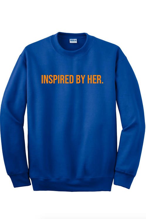 INSPIRED Sweatshirt- Royal Blue