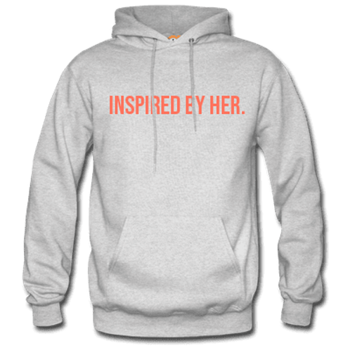 INSPIRED Hoodie- Gray
