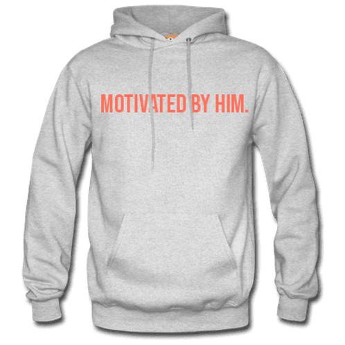 MOTIVATED Hoodie- Gray