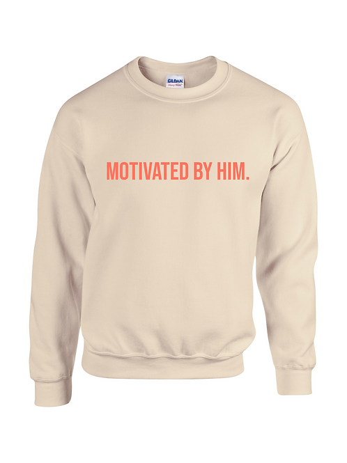 MOTIVATED Sweatshirt- Sand