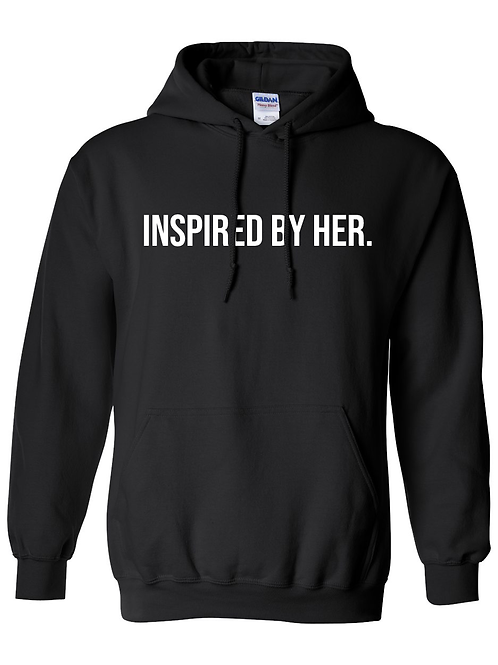 INSPIRED Hoodie- Black