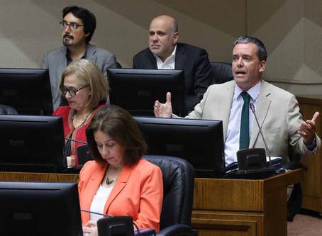 Senador Harboe emplaza al Gobierno a adoptar medidas contra paro de camioneros
