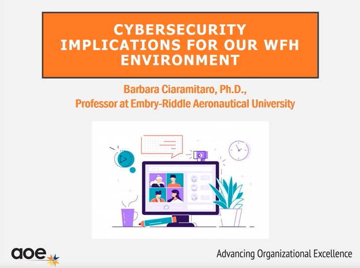 Cybersecurity Implications for our WFH Environment