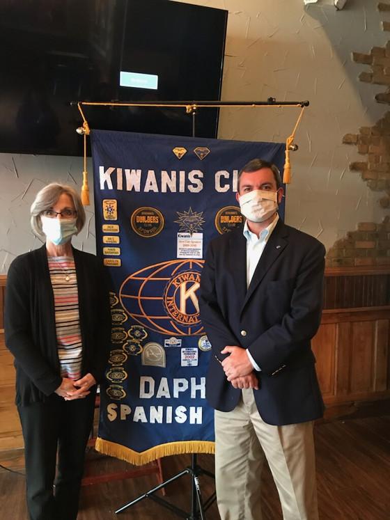 Jace Waters Foundation Speaks at Kiwanis Club