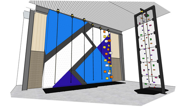 Community Centre Climbing Wall