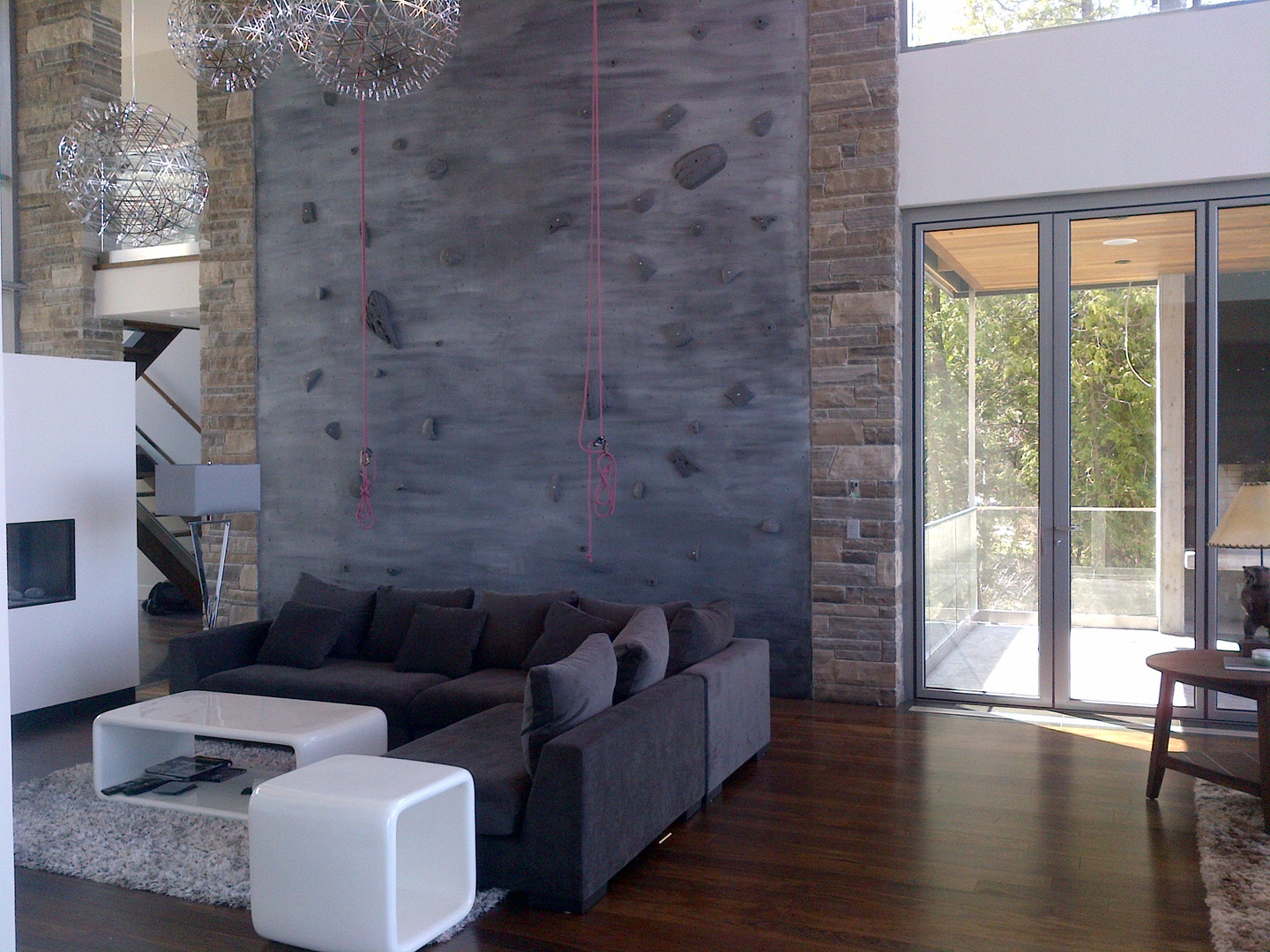 Residential Rock Climbing Wall