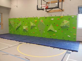 Custom Climbing Wall built by IMPACT Climbing