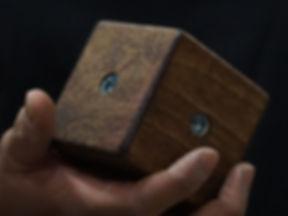 custom climbing hold with velvet grip texture