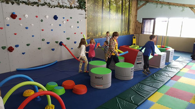 Indoor Playground Structure built by IMPACT Climbing