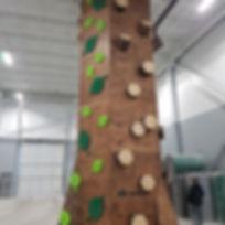 Indoor adventure play structure