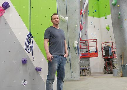 Opening of aspire climbing gym