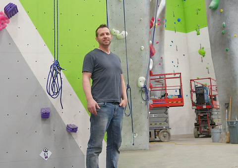 Opening of aspire climbing gym