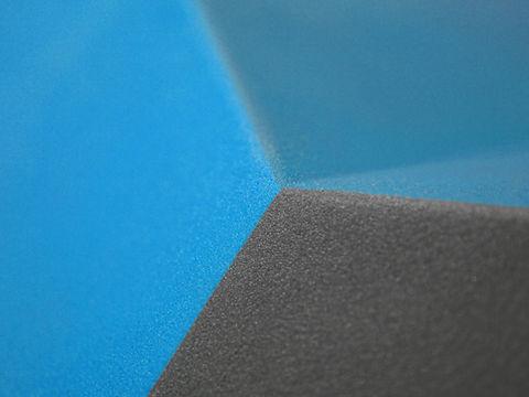 velvet grip custom texture on a climbing volume