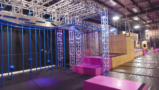 Bounce Trampoline Park- Obstacles
